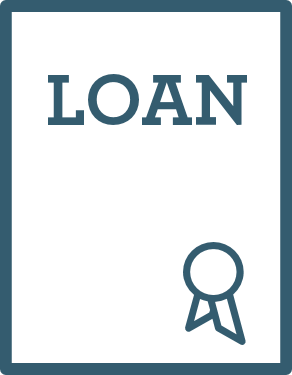 blue loan document