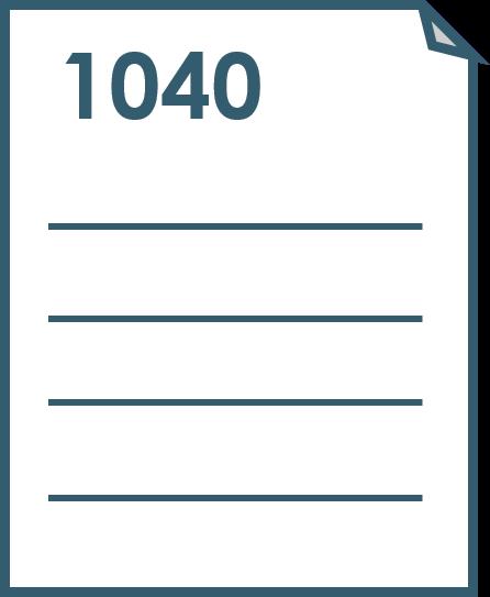 1040 de impuestos