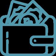 icono de billetera