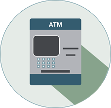 icon of an atm