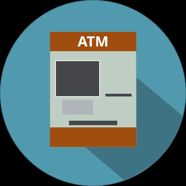 icono de cajero automatico