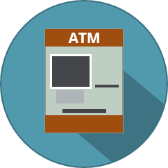 icono de Cajeros Automáticos (ATM)
