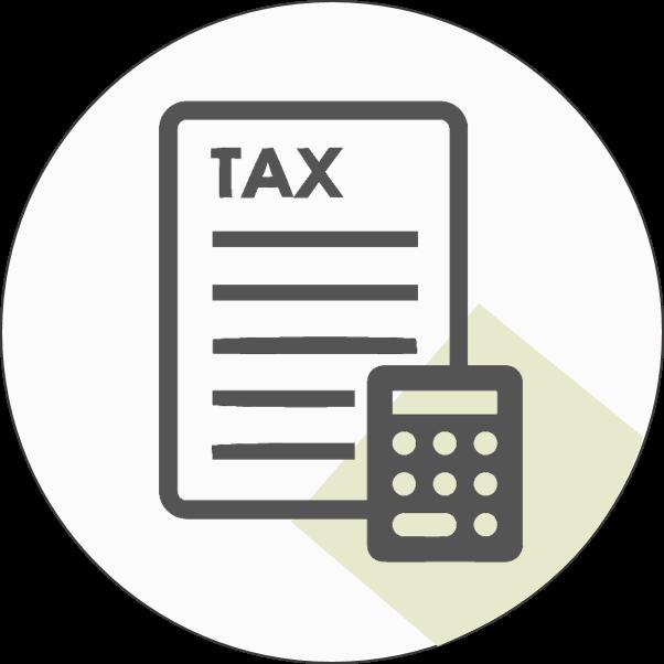 icono de impuestos